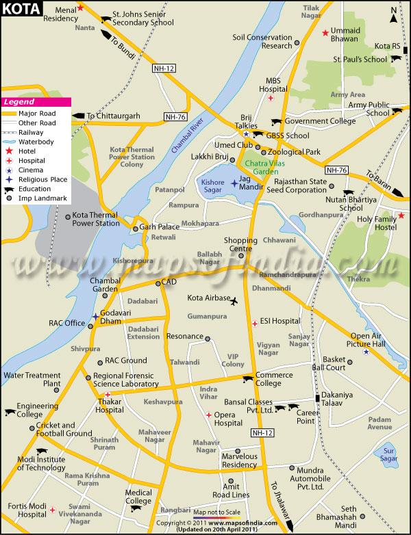jaipur city road map pdf